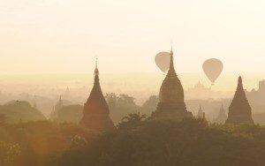 Hot air balloon trip - Pagan Myanmar