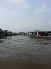 Kampong Chhnang Floating village Cambodia