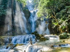 Luang Prabang Laos -Tad Kuangsi Water Falls