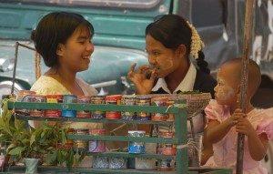 Bogyoke Market Yangon Myanmar