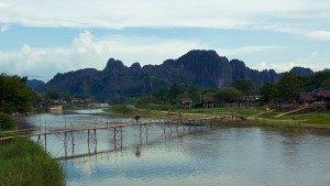 city Vang Vieng Laos