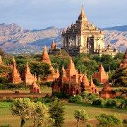 phoca pagoda Bagan Myanmar