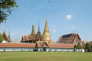 Central Thailand Grand palace Wat Phra Kaeo Bangkok