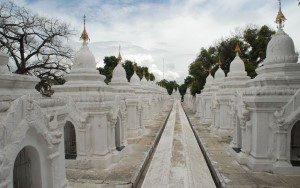 Kuthodaw Pagoda-Mandalay Myanmar