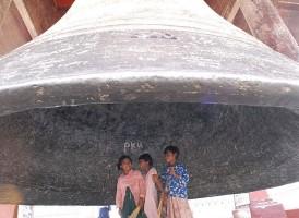 Mingun bell Mandalay Myanmar