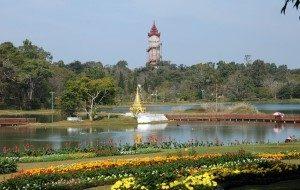 Pyin oo Lwin-Botanical Garden Mandalay Myanmar