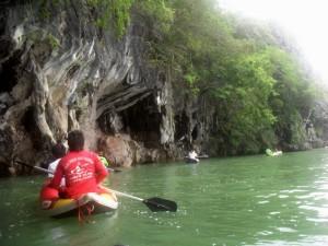 canoeing thailand