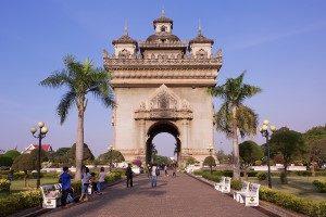 Vientiane Laos -Patuxai
